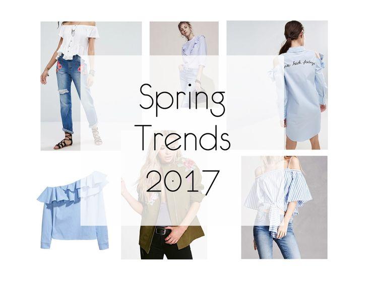 Spring Trends 2017 | Ανοιξιάτικα Trends 2017