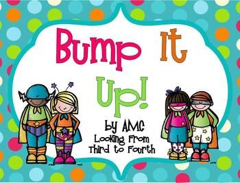 SUPERHERO BUMP IT UP BULLETIN BOARD DISPLAY SET - TeachersPayTeachers.com