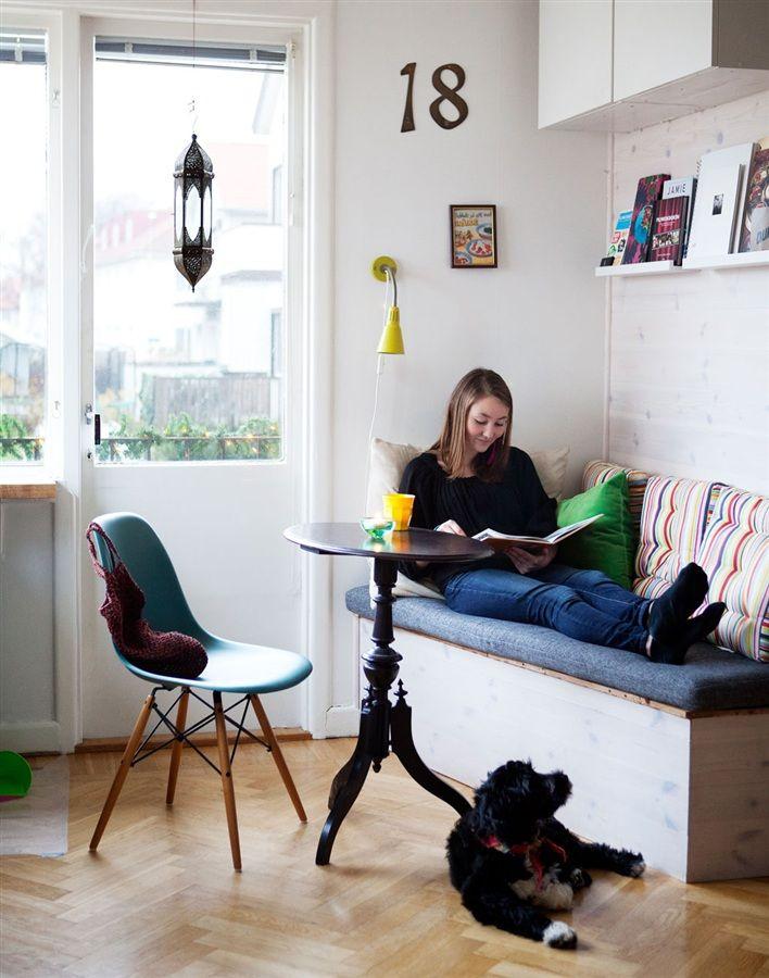 Gör det själv – bygg sittbänk i köket