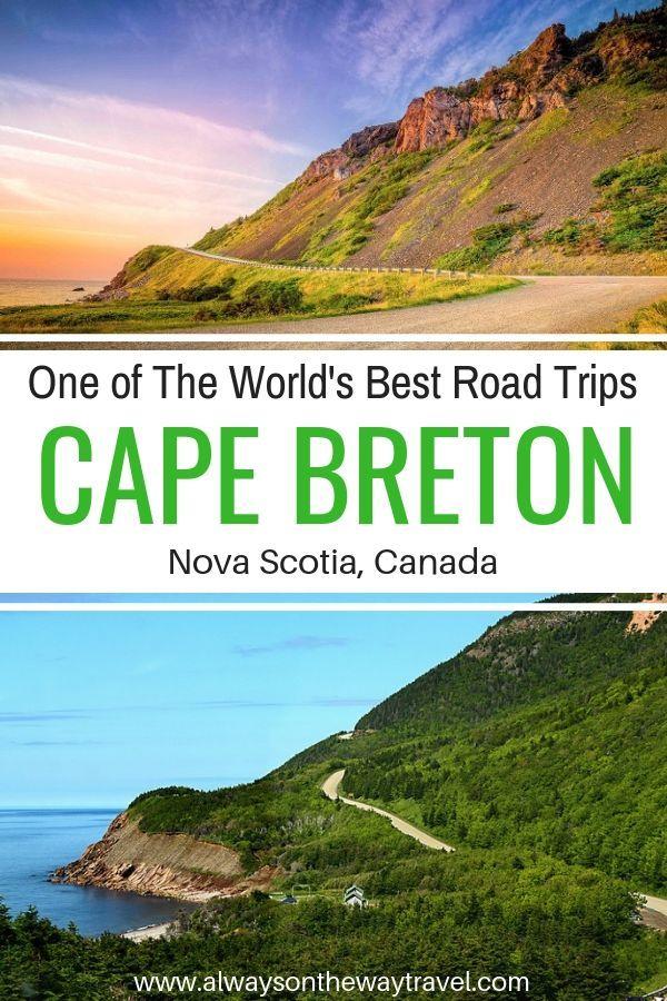 One of many World's Greatest Highway Journeys: Exploring Cape Breton Island
