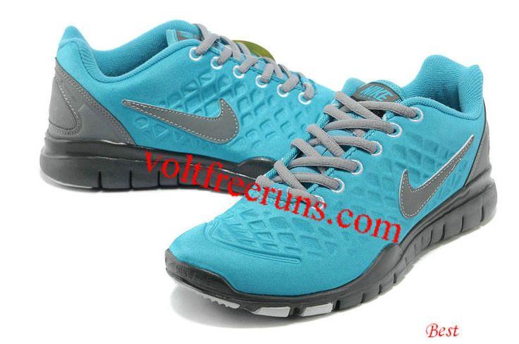 Nike Free TR Fit 2 Shield Womens Chlorine Blue Dark Grey $ 54.59