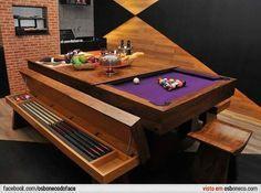 yemek bilardo masası
