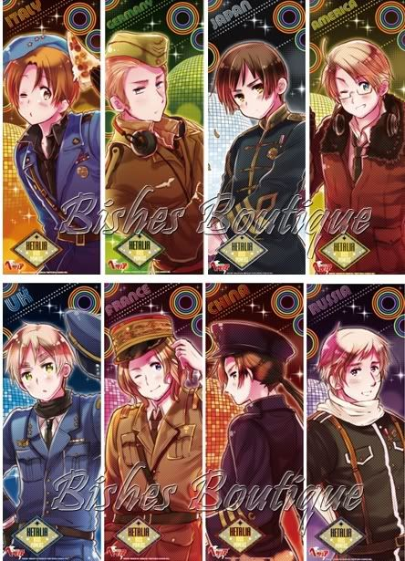 hetalia axis powers poster | brand new Hetalia Axis Powers poster-- CHINA ONLY