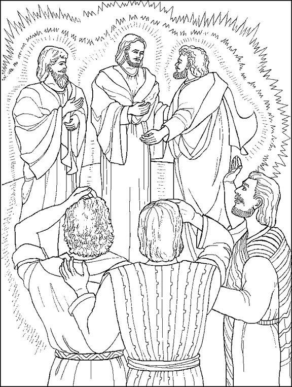 Jesus Is Transfigured