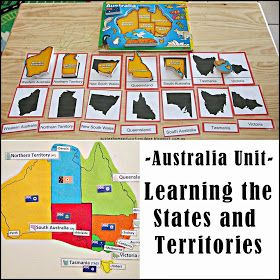 During our unit on Australia, my son (7yrs old), learnt about Australian geography including the states, their capital cities, the flags fo...
