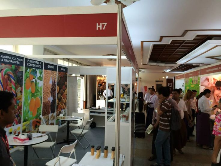 Stand No. H7, Hall no. 1… we are waiting for you here! — at Myanmar Convention Center (MCC).