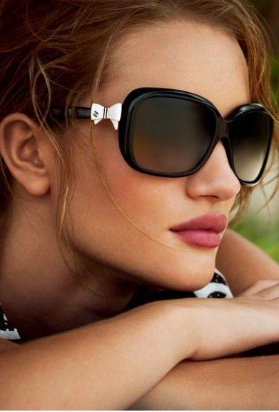 My Chanel #5171 #lacinho #branco #oculos #de #sol #sunglasses #online