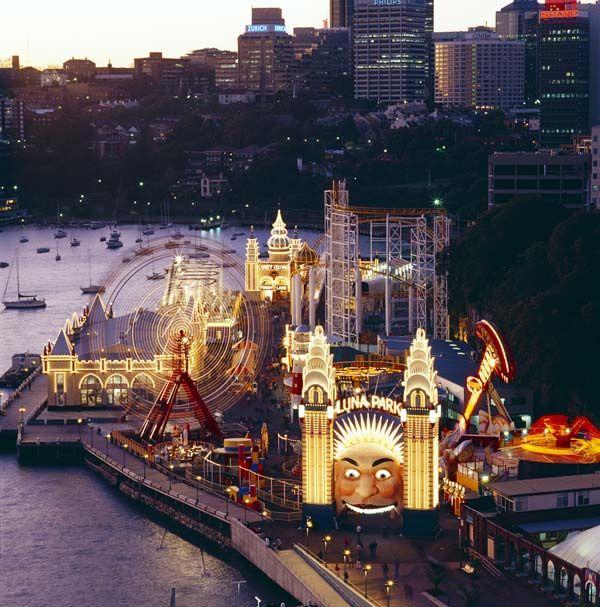 #lunapark #sydney #amusementpark