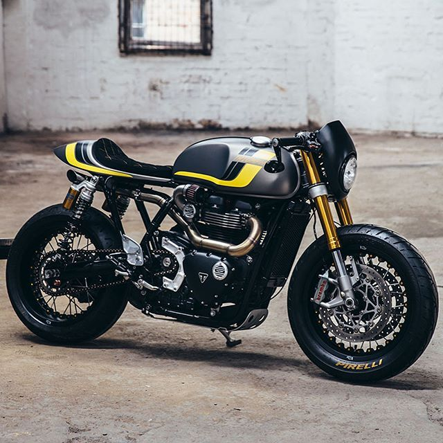 "8,988 Likes, 53 Comments - Drop Moto (@dropmoto) on Instagram: ""Sweet. Mother. Of God. I'm at a complete loss for for words (almost) on this custom Triumph…"""