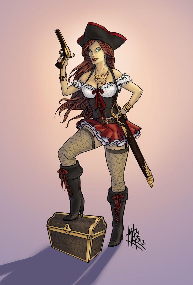 Имена капитанов пиратов девушки