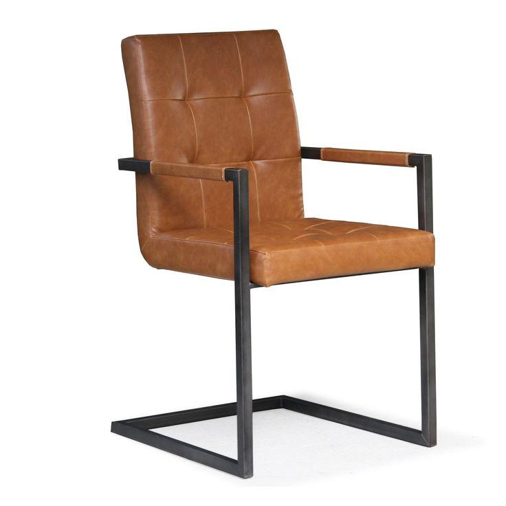 Robuuste stoel Vintage - Eetkamerstoelen - Eetkamer meubelen   Zen Lifestyle
