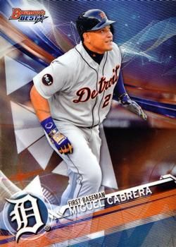 2017 Bowman's Best #23 Miguel Cabrera Front