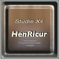 """X4 Studie X4 von Heinz Hoffmann """"HenRicur"""" auf SoundCloud"""