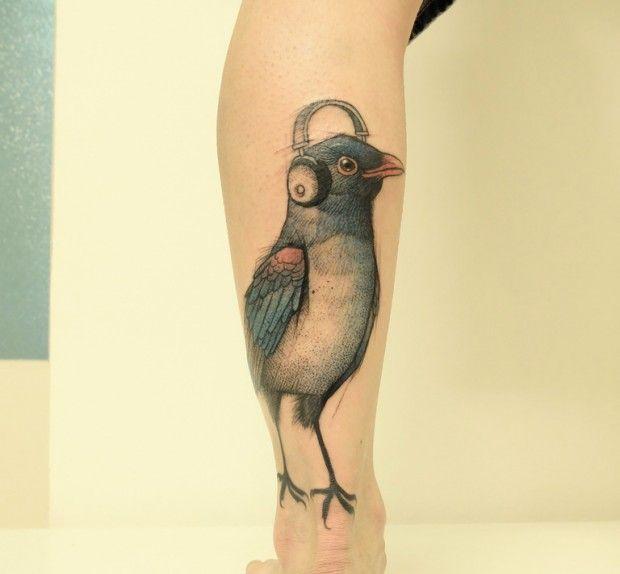 Les tatouages de Jan Mráz