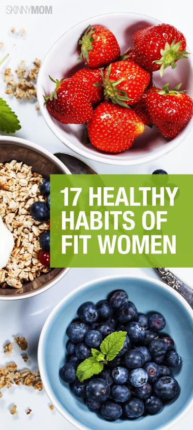 Here are 17 healthy habits to live a healthier life.