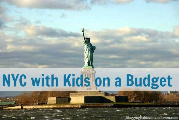 Visit New York City on a budget? Try NYC with Kids on a Budget BayouTravel