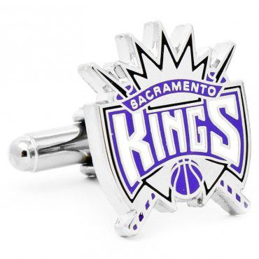 Officially licensed Sacramento Kings Cufflinks by NBA. Available only at CUFFZ.com.au