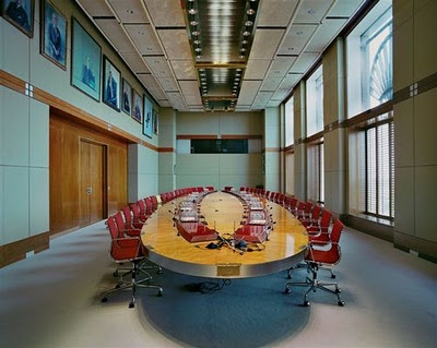 Royal Dutch Shell's boardroom  Table of Power- Jacqueline Hassink