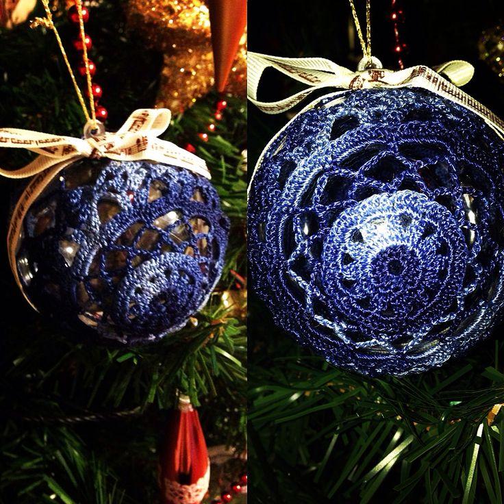 Christmas in blue! www.etsy.com/shop/fiocchidicotone01
