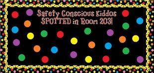 Since you'll likely be discussing various topics during National Safety Month it might be difficult to tailor your classroom decor to encompass allof the important tips you and your kiddos have...