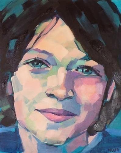 """""""Portrait commission, part 2"""" - Original Fine Art for Sale - © Jessica Miller"""