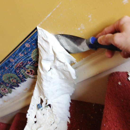 There 39 s more than one way to remove old wallpaper we 39 re for Wallpaper removal home remedy