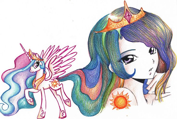 discord and celestia fillies - Google Search