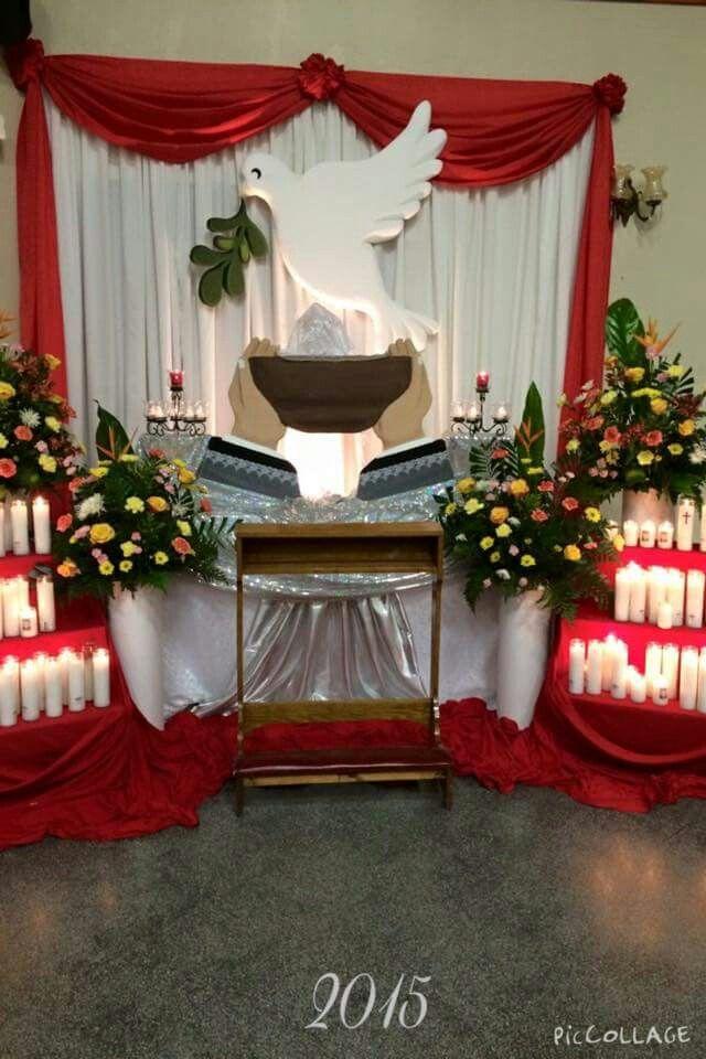 Decoracion altares para novenarios for Decoracion casa granada