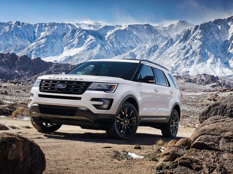 The all new 2017 Ford Explorer XLT Sport Appearance Package. CAR GOALS!