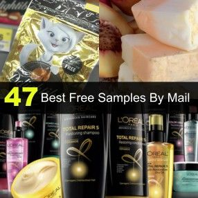 47 Best Free Samples by Mail! There is a ton of free stuff out there