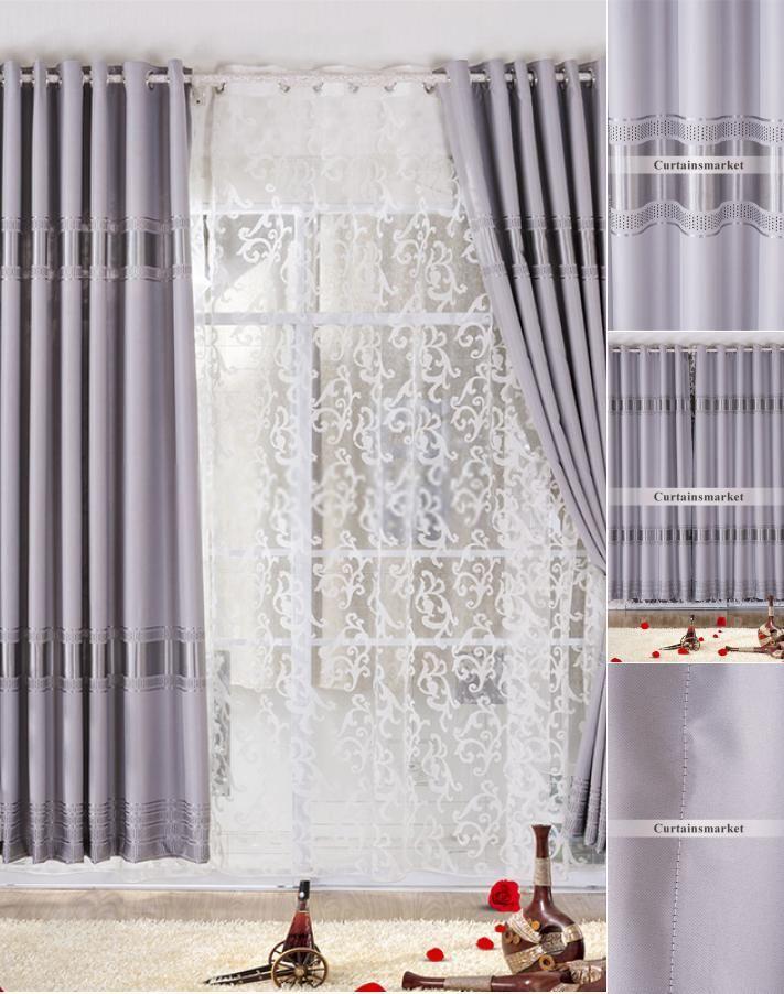 Modern Looking Energy Saving Nice Bedroom Curtains Curtainsideasforgraywalls