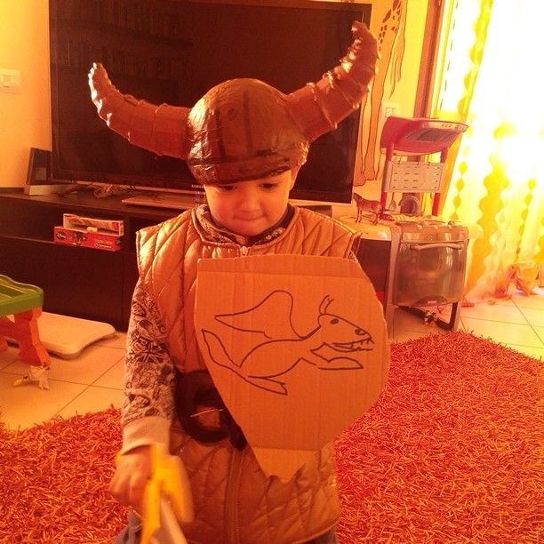 Il mio Hicab......vichingo dei draghi