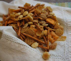 A tasty snack mix that is loaded with flavor. Perfect to bring on the boat or to a picnic.
