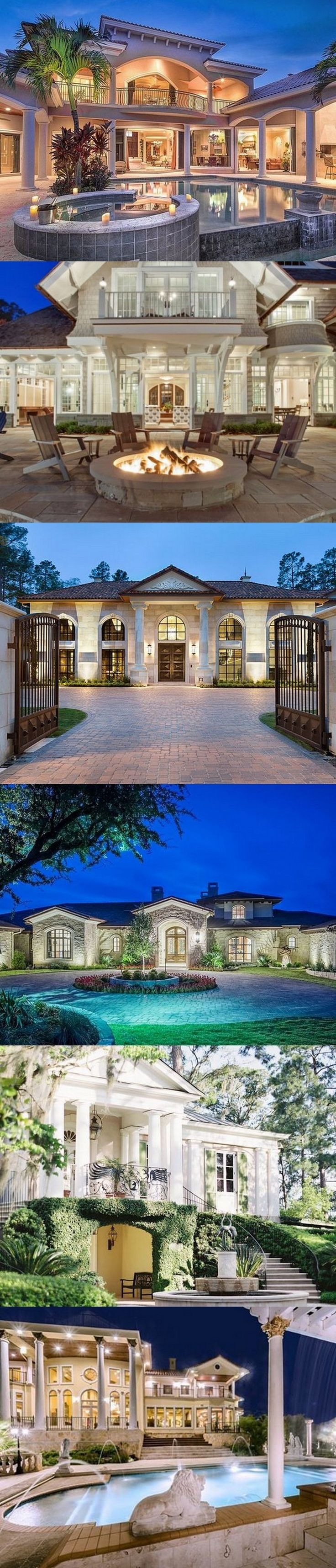 54 Stunning Dream Homes U0026 Mega Mansions From Social Media
