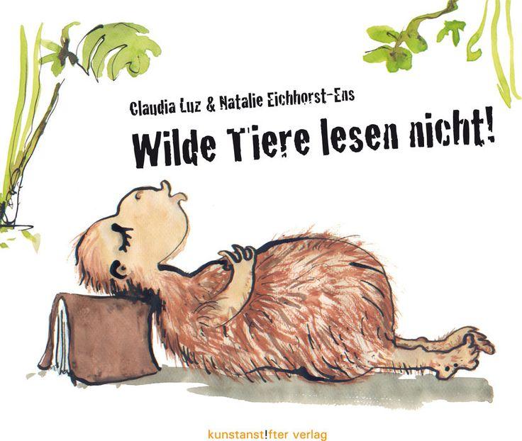 Olli, die Elefantenkuh, geplagt von einer Mücke, nimmt das Buch als Fliegenklatsche, macht damit kurz pitsche-patsche, haut das Tier in Stücke und lacht ganz laut dazu!