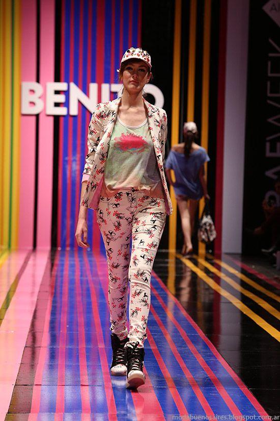 Benito Fernandez primavera verano 2015 pantalones.