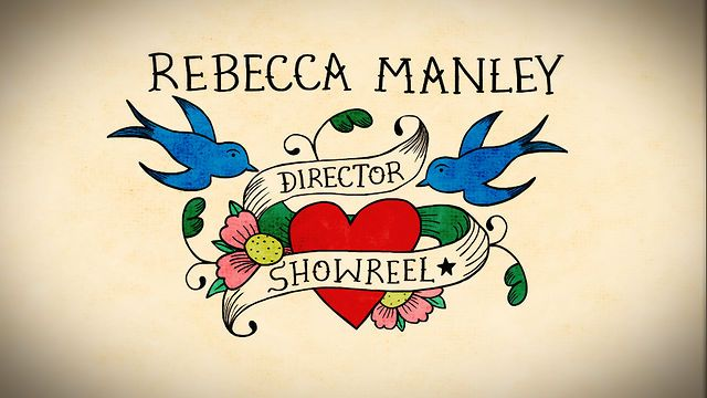 Director Showreel 2011 by Rebecca Manley. My new director showreel, comprised of commercials and short films.