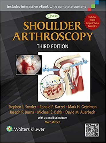 Keep pace with fast-moving advances in shoulder arthroscopy. The newly updated SCOI Shoulder Arthroscopy is based on the top-flight training and innovative practices of the Southern California Orthopedic Institute (SCOI). This updated 3rd edition includes highly practical guided reviews of...