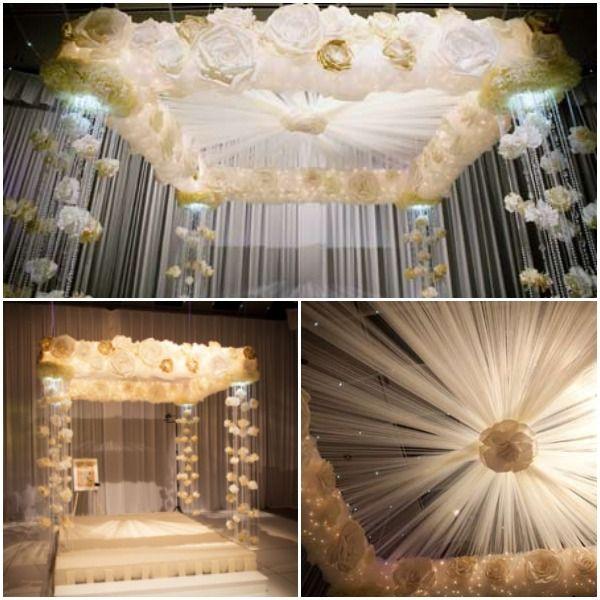 best 25 wedding canopy ideas on pinterest. Black Bedroom Furniture Sets. Home Design Ideas