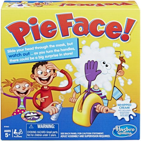 Find theHasbro Gaming Pie Face Game by Hasbro Gaming at Mills Fleet Farm. Mills has low prices and a great selection on all Party Games.