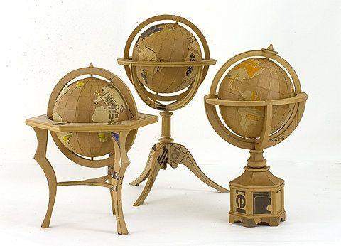 corrugate globes!