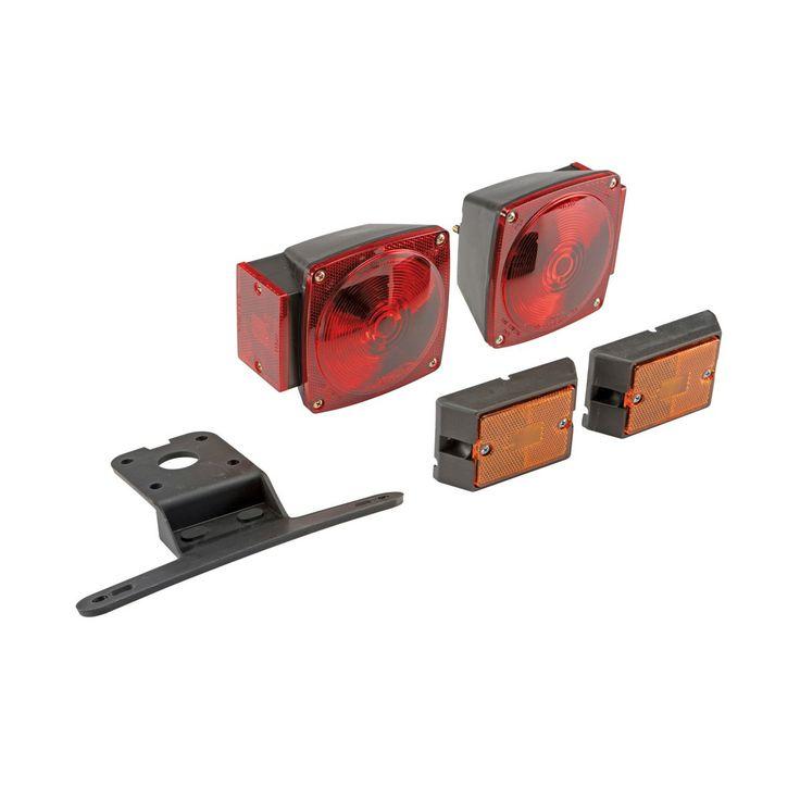 Haulmasterr 66616 Fourway 5 Ft Trailer Wire Kit