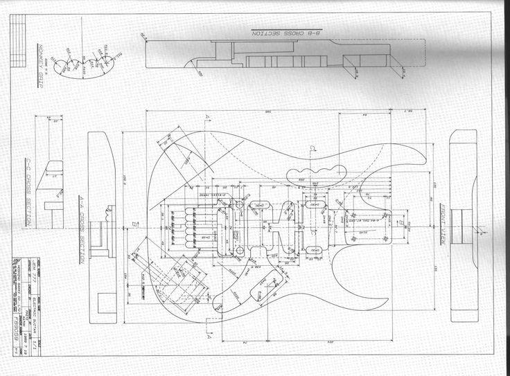 Les Paul Blueprints In 2019