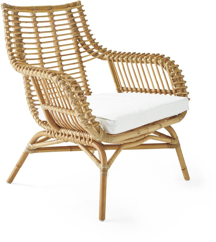 Get the Look  HOME AGAIN movie set decor  Venice Rattan Chair Cushion  home. 60 best Get the Look  HOME AGAIN California Chic images on