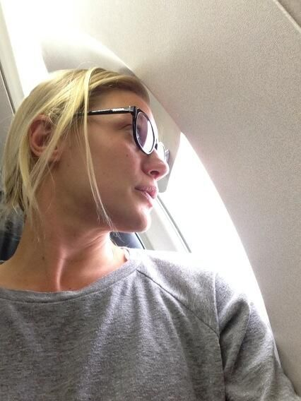 Katee Sackhoff flying back to New Mexico to the #Longmire set
