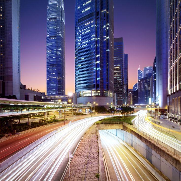 Вечерний город   Night city