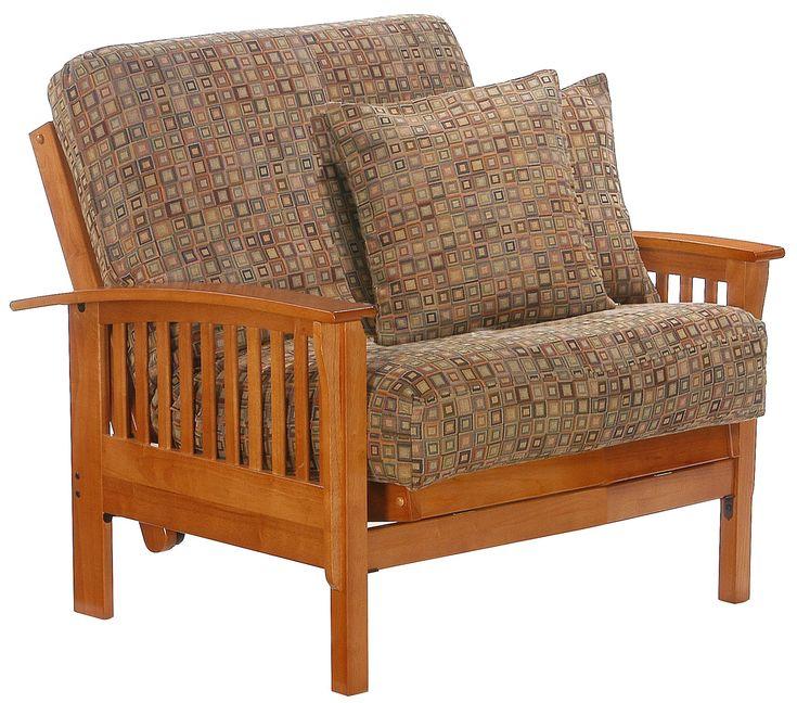 modern futon chairs with 2 pillows the 25  best futon chair ideas on pinterest   small futon sofa