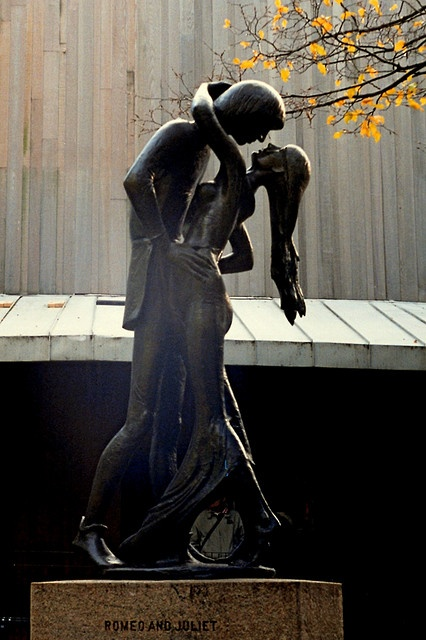 star-crossed lovers : Romeo and Juliet ~ Central Park, NYC