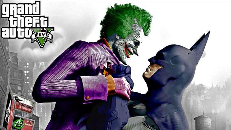 💀 BATMAN VS JOKER 🤡 - GTA 5 MUTANT SAVAŞLARI #2
