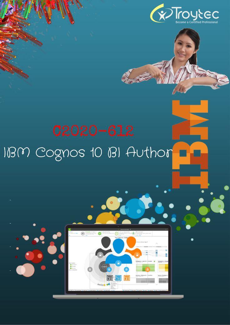 Exam Name : IBM Cognos 10 BI Author Exam Code : C2020-612 Category: IBM  http://www.troytec.com/C2020-612-exams.html